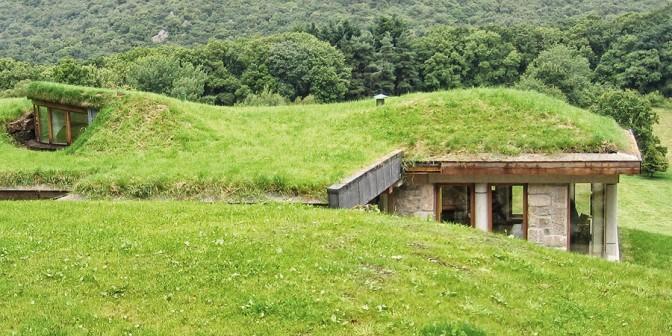 Zelena streha - Kritina je primerna za industrijske objekte in pisarne