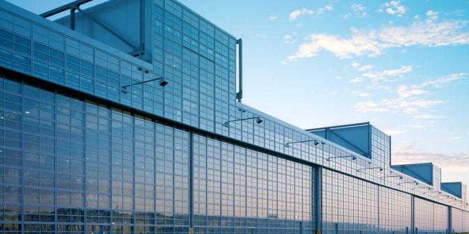 Flachdach Airbus Halle Hamburg mit Rhepanol