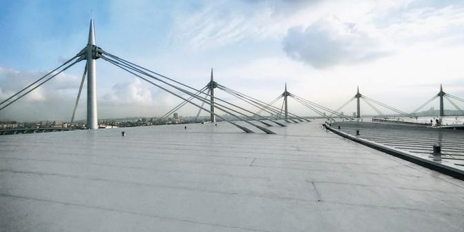 Ravna streha Rhenofol - varna, robustna kritina, ki jo je mogo?e reciklirati